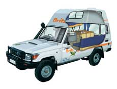 land cruiser offroad camper