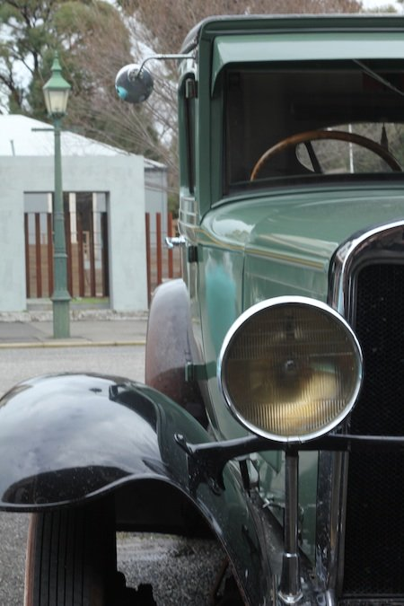 Clunes Historic Cars