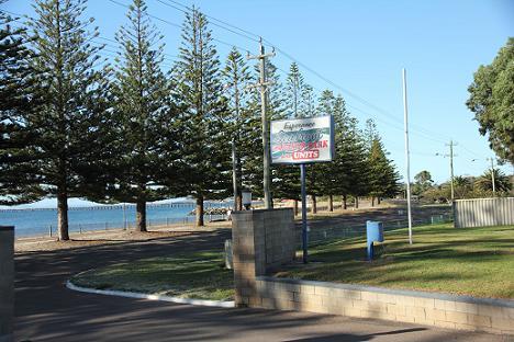 sea view caravan park