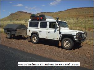 Landrover on the Gunbarrell