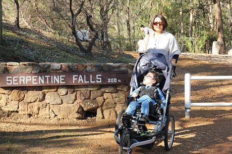 serpentine falls Perth W.A